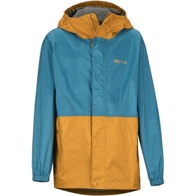 Marmot PreCip Eco Jacket Jungs late night/aztec gold